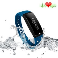 Riversong Fitness Tracker Heart Rate Monitor Blood Pressure Bracelet Sedent