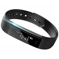 Smart Band: Heart Rate Monitor Fitness Activity Tracker Watch Step Walking